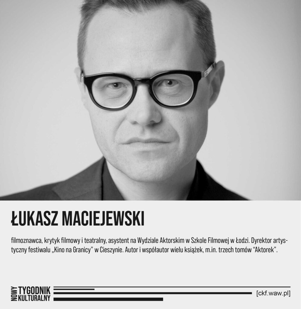 Nowy Tygodnik Kulturalny Łukasz Maciejewski