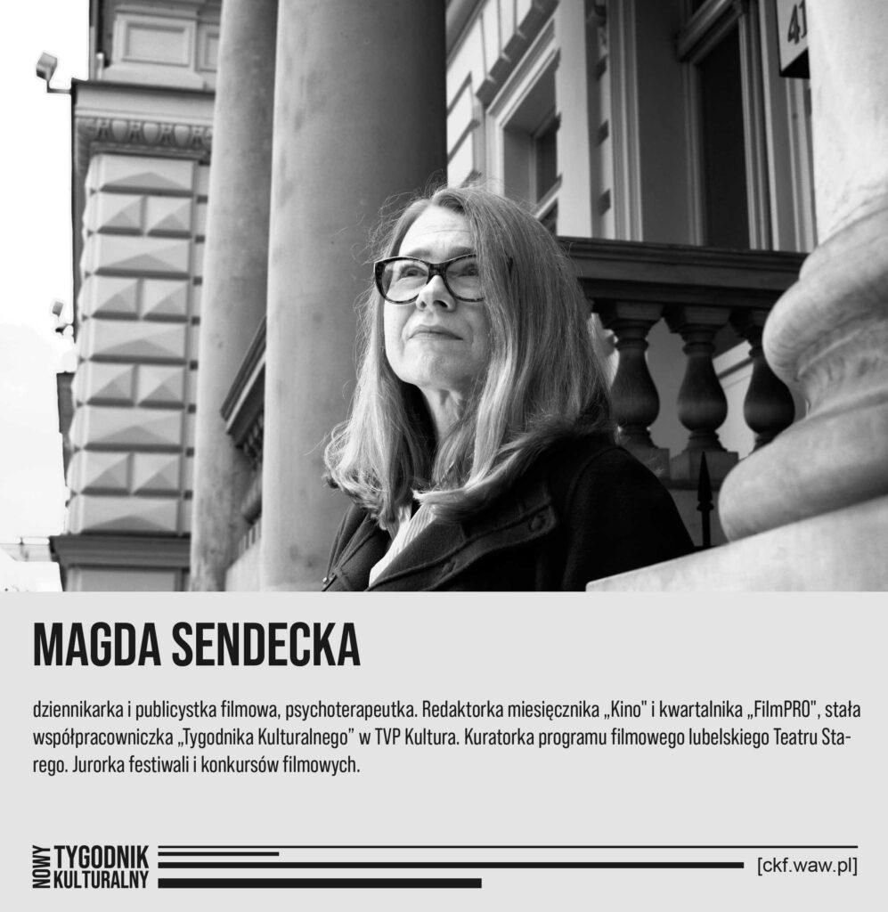 Nowy Tygodnik Kulturalny Magda Sendecka