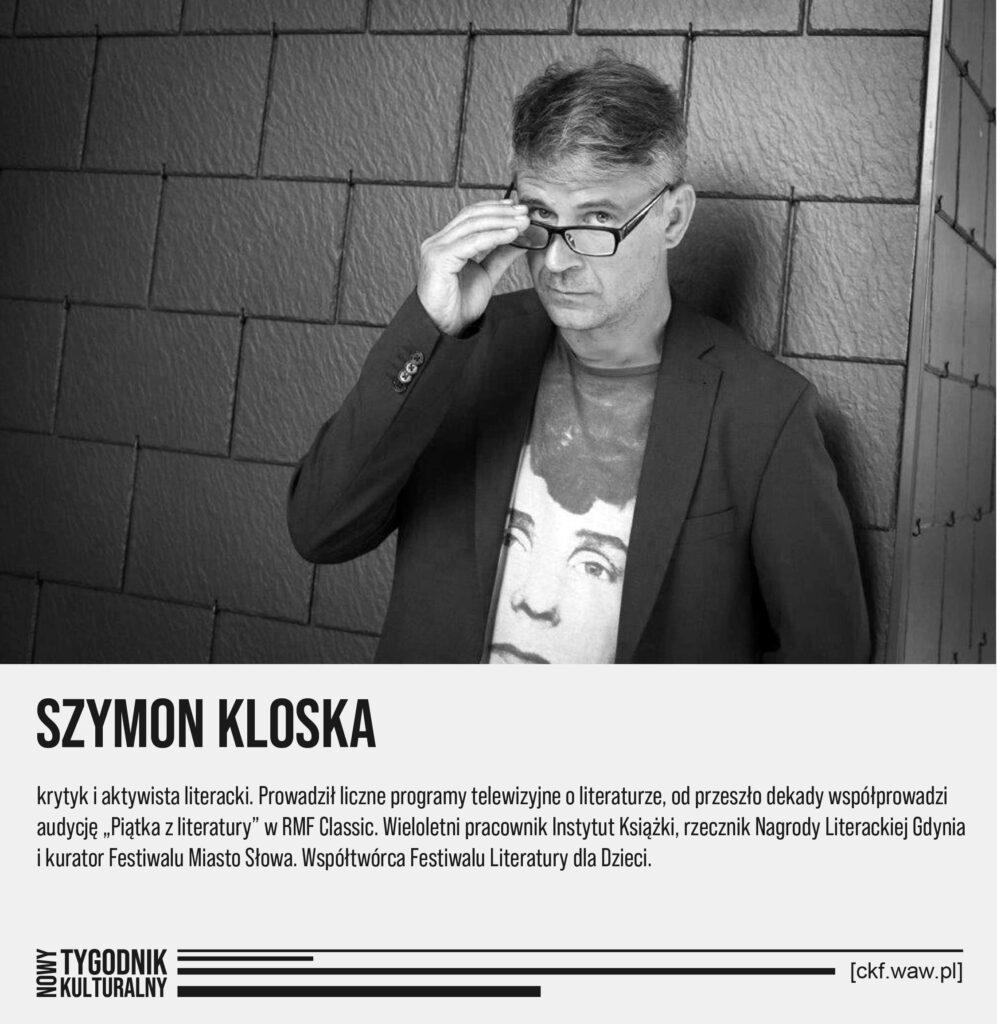 Nowy Tygodnik Kulturalny Szymon Koloska